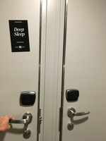 These are the Do Not Disturb magnets for your stateroom door.  We respected