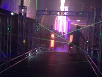 Lazer Maze.  There is also archery, Deal or No Deal, and trivia games.