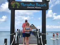 Paradise Beach! Our favorite place in the world. Still only $3