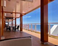 Deck 8 - great for sitting out and watching the sea