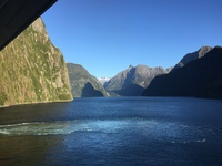 Day we went thru Dusky, Doubtful, and Milford Sounds