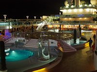 Lido at night