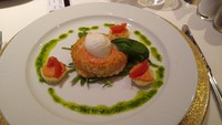 Gala night starter - mozzarella vol-et-vent