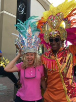 We had a blast at the Aruba Grand Carnival Parade. We danced with the beaut