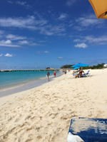 This is Grand Turk at Turks and Caicos in front of Jack's Shack. The sn
