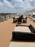 This is the Haven sun deck which we used often. It was wonderful and always