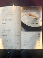 MSC Bellissima Bar prices April 2019
