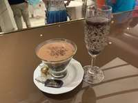 Drinks from Venchi Chocolate bar!