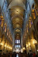 Inside Notre-Dame Cathedral, Paris