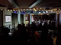 Live stand up comics with both family and adult only shows