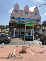 In Aruba; we had lunch in this place called Iguana Joes.  We've been to A