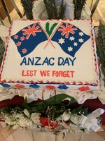 ANZAC Day was celebrated onboard.