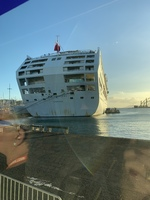 Aft Sea Princess @ Papeete