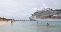The ship at Grand Turk