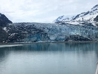 Glacier Bay shot from the ship