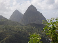Saint Lucia The Pitons