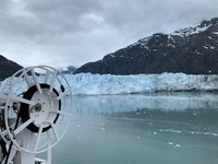 Marjorie Glacier.  You'll have to be patient and wait for the ship to r