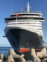 Queen Victoria alongside in Tallinn