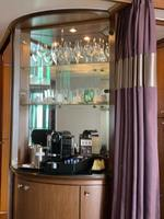 Coffee area in Cabin