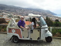 Tuk Tuk Tour in Madeira, Portugal