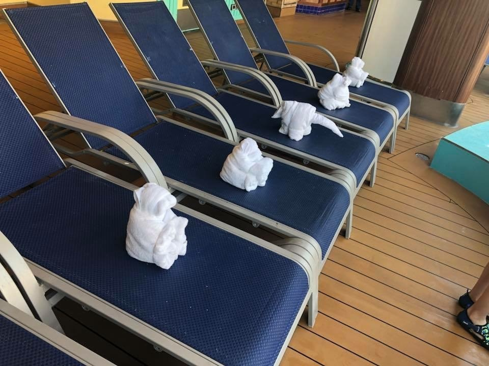 Fun towel animals