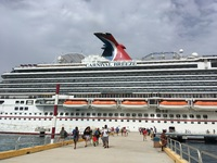 Going back to the ship in Cozumel