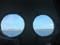 Port hole view!