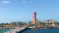 This is a picture of Perfect Day @ CocoCay from the ship