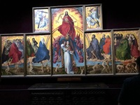 Altar painted by Rogier Van der Weyden