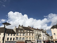 Pretty city of Beune, France - heart of wine tasting