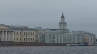 View from riverboat on Picturesque St Petersburg Tour