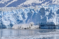 A gorgeous day at Hubbard Glacier