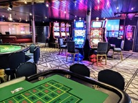The casino was renovated and looked nice - but they cut it to half the of t