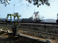 Although Goa has a passenger terminal port building, this was the mining po