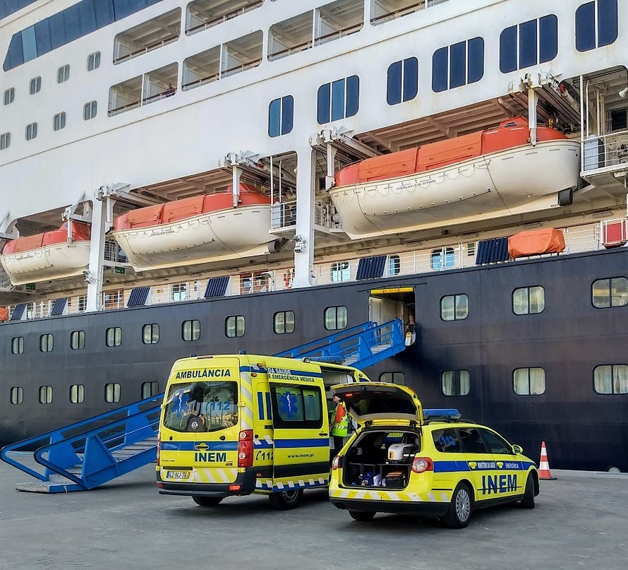 This happened at most ports - part of being on a longer cruise with elderly