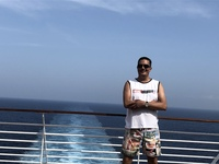 First day on the cruise and exploring the Musica