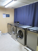 One of the self service laundrettes