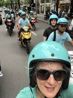 Saigon, Vietnam; Scooter tour
