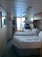 Cabin 9237 set up for 4 people - Celebrity Equinox