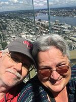 Us at the Space Needle