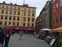 Stockholm by the Nobel Museum
