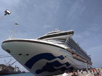 Caribbean Princess docked in St. Thomas
