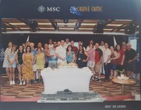 Cruise Critic Group Picture July 7, 2019 at the MSC Seaside