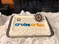 Cruise Critic Meet and Greet was really nice. We were introduced to some of