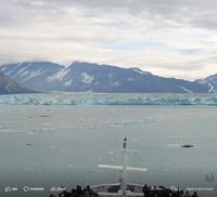 Hubbard Glacier, view from our suite