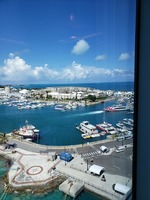 View ship at port/Bermuda