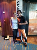 After a hiphop class with one of the entertainers and instructors.. DanielZ