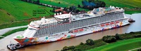 Genting Dreams cruise is operating in Asia and has the concept of ship in t