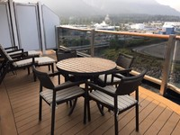 Holland America Westerdam - Suite 7142 - Aft Deck - wrap around - were were the last cabin on the port side
