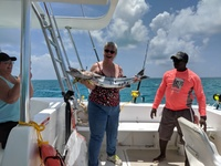 Deep Sea/Reef Fishing Excursion - my barracuda! (No, we didn't keep the
